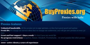 nike proxy provider